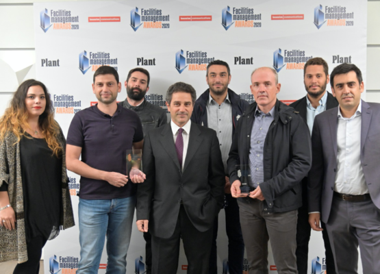 MELKAT CONTINUES ITS DYNAMIC COURSE WINING TWO AWARDS AT FACILITIES MANAGEMENT AWARDS 2020